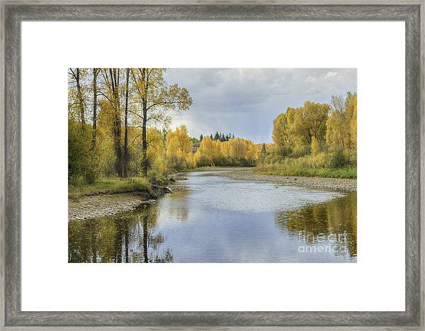 Yampa River Colorado II Framed Print