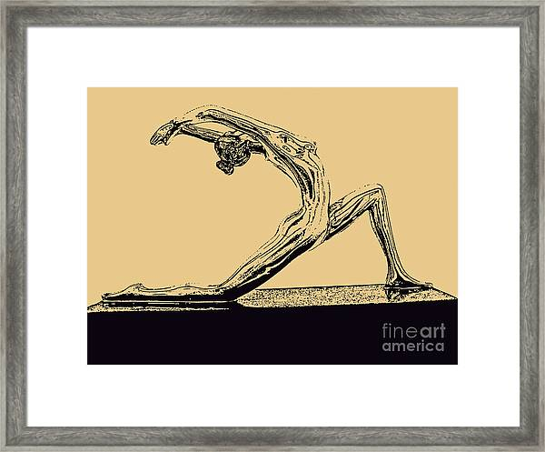 Yoga Number One Framed Print