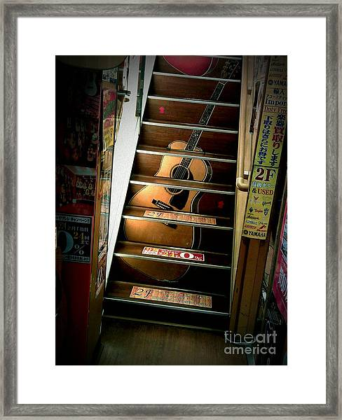 You Can Buy A Guitar Here Framed Print