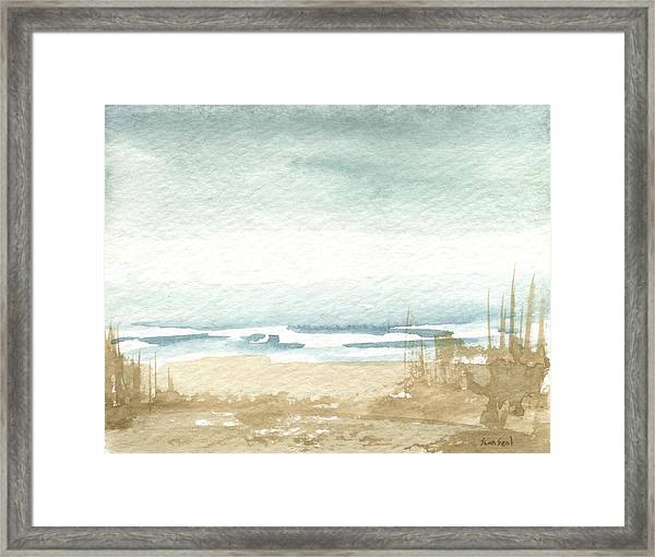Zen Landscape 1 Framed Print