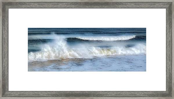 Zen Wave Framed Print