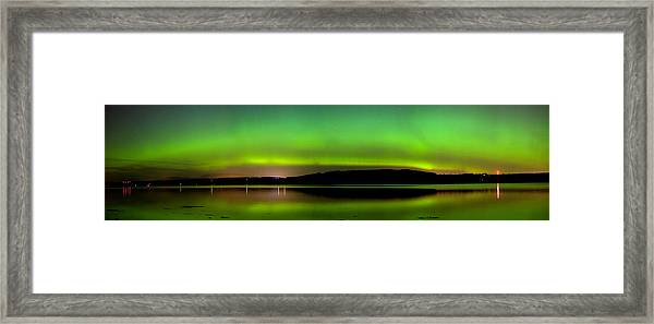 Aurora Over The Beauly Firth Framed Print
