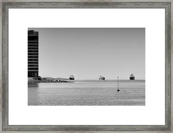 Bay  #2292 Framed Print