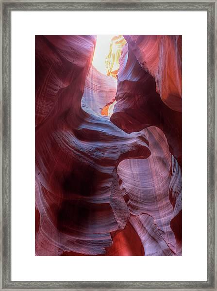 Heavenly Light Framed Print