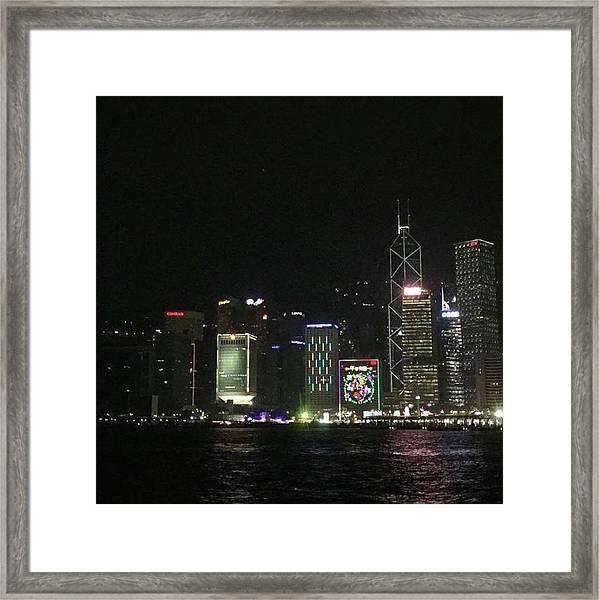 #香港 #hongkong Framed Print by Takaharu Nakamoto