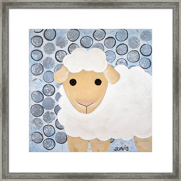 The Blessing Of The Lamb Framed Print