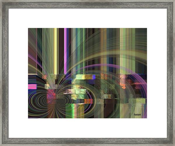 Our Rain Framed Print by Fania Simon