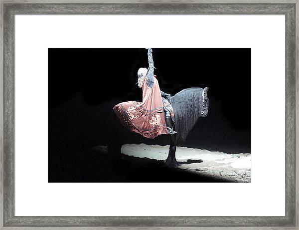 Rising King Framed Print by Art Spectrum