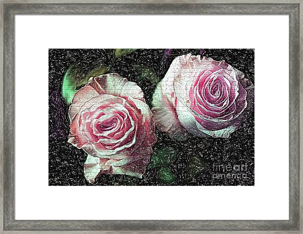 Romantisme Poetique Framed Print