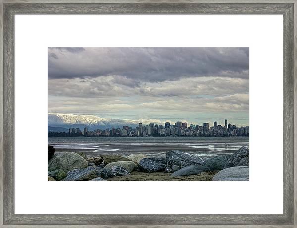 Sea To Sky II Framed Print