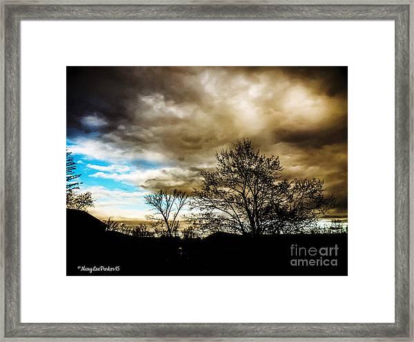 Storm  Coming  Framed Print