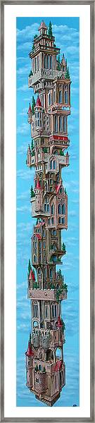 The Castle Of Air Framed Print