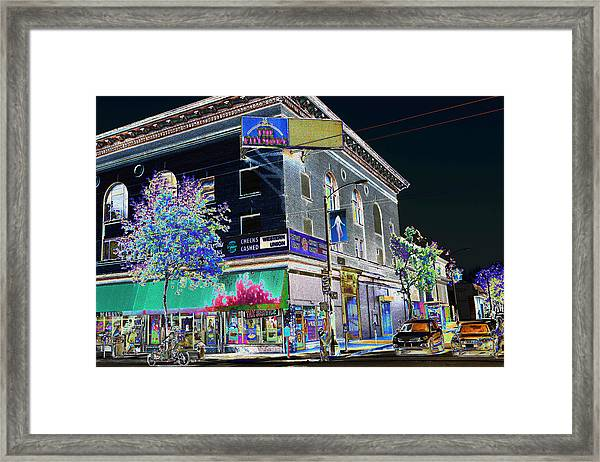 The Fillmore West Framed Print