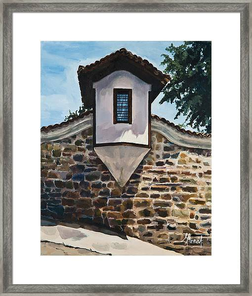 The Small Window Framed Print
