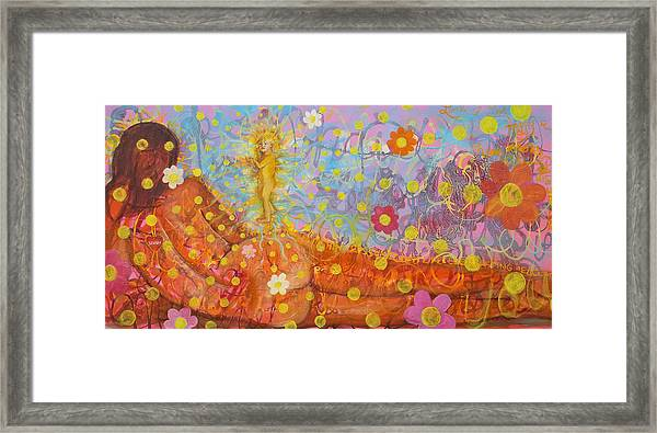 Theology Of The Body Framed Print