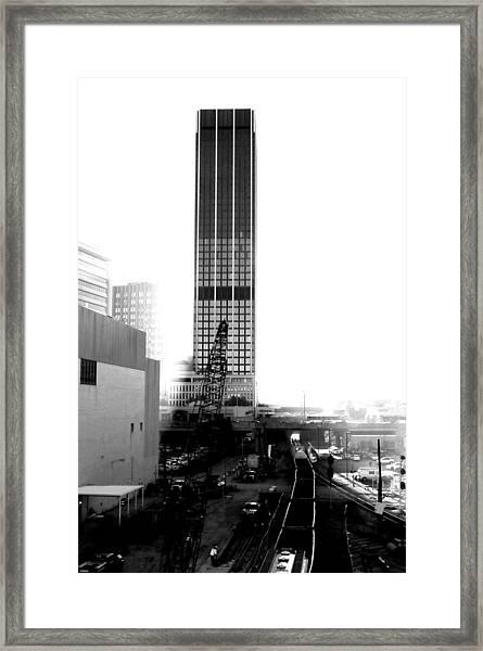 0 Mile Marta  Framed Print