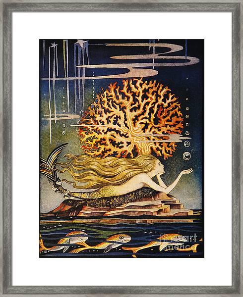 Andersen: Little Mermaid Framed Print