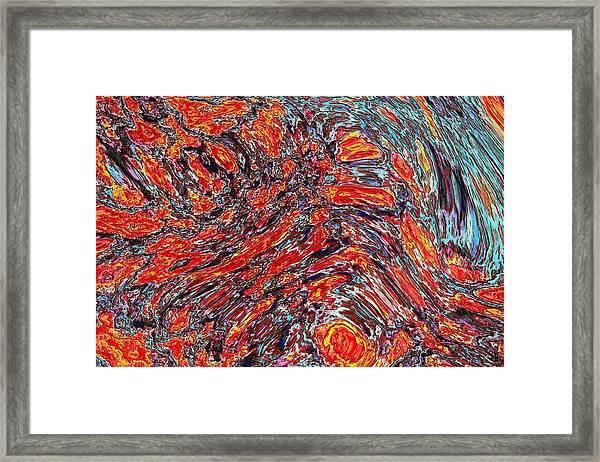 032115 Framed Print