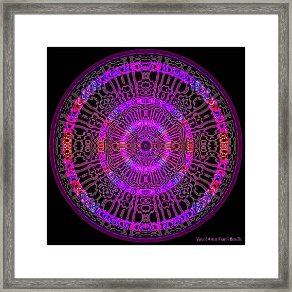 Framed Print featuring the digital art #051702158 by Visual Artist Frank Bonilla