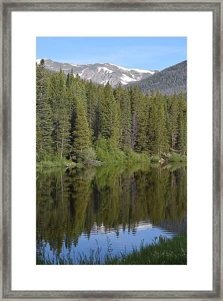Chambers Lake Hwy 14 Co Framed Print