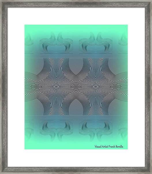 Framed Print featuring the digital art #061220171 by Visual Artist Frank Bonilla