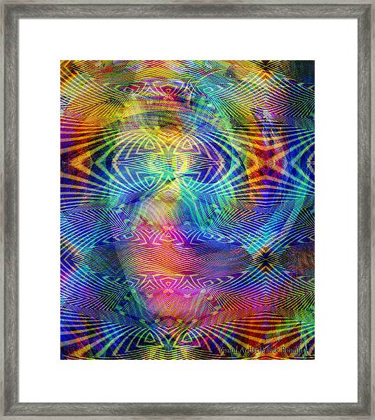 Framed Print featuring the digital art #0619201517 by Visual Artist Frank Bonilla