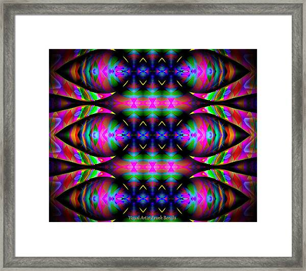 Framed Print featuring the digital art #0627201523 by Visual Artist Frank Bonilla