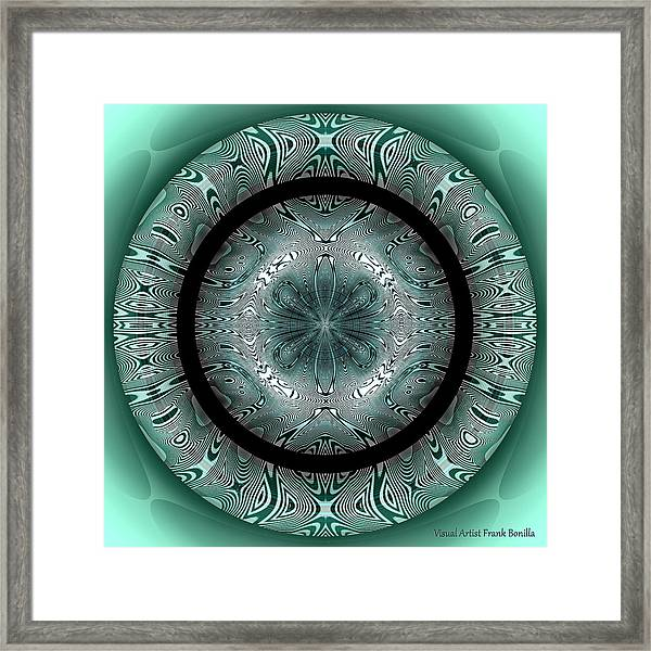 Framed Print featuring the digital art #070420152 by Visual Artist Frank Bonilla