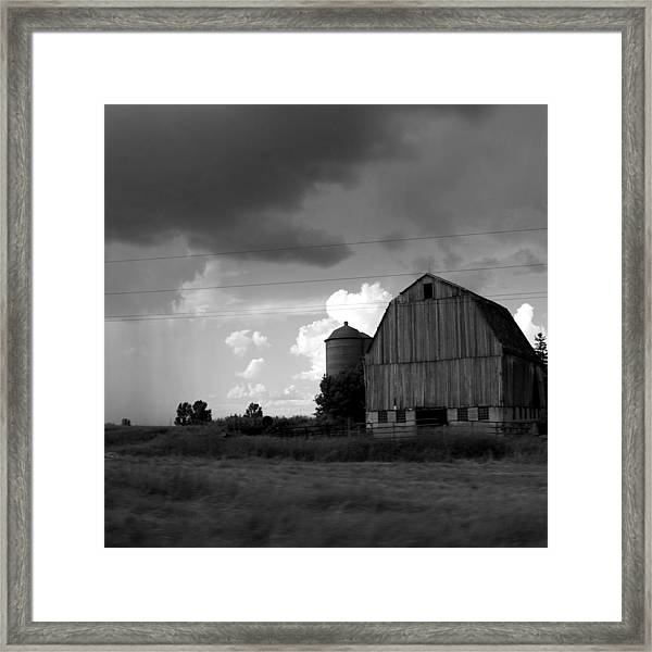 08016 Framed Print