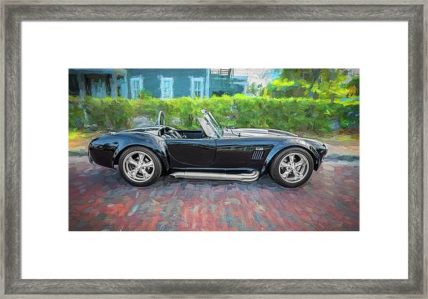 1965 Ford Ac Cobra Painted    Framed Print