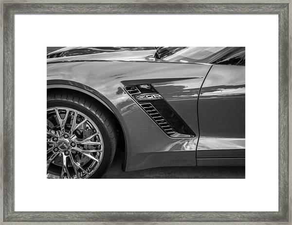 2015 Chevrolet Corvette Z06 Painted  Framed Print