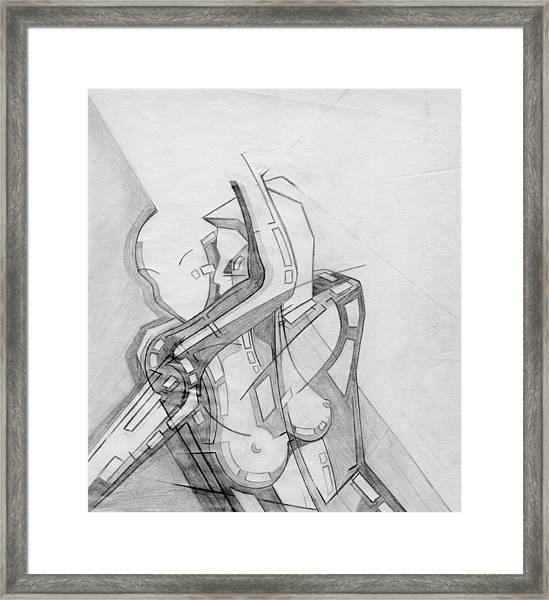 87 - 8 Detail Framed Print