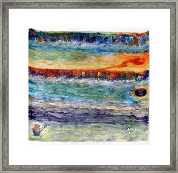 A New Dawn..  Framed Print by Rooma Mehra