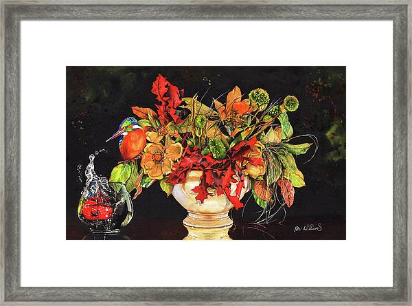 A Splash Of Colour Framed Print