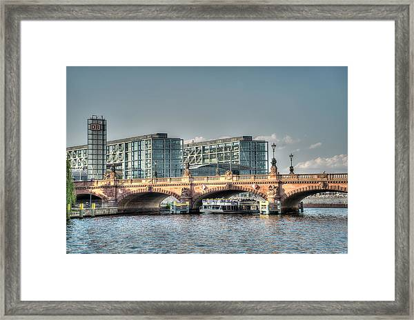 A View Under The Bridge Framed Print