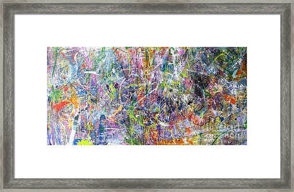 Abstract #87 Framed Print