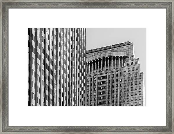 Abstract Architecture - New York Framed Print