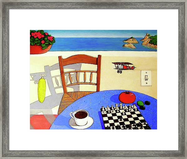 Afternoon Distractions Framed Print