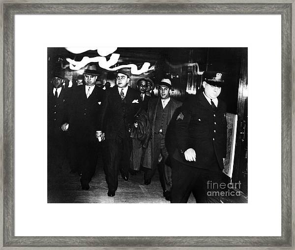 Alphonse Capone (1899-1947) Framed Print