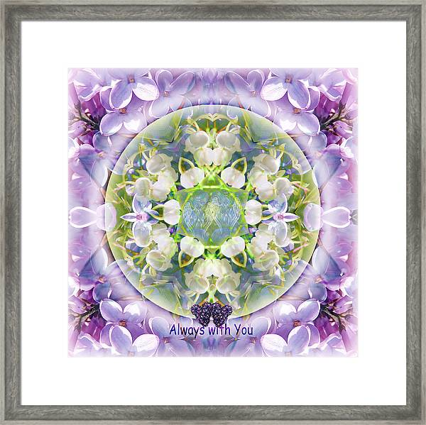 Always With You-2 Framed Print