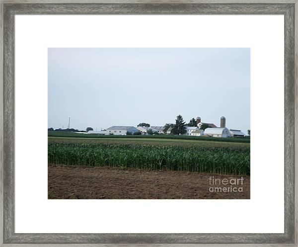 Amish Homestead 9 Framed Print