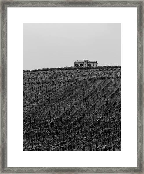 An Italian Farm In Abruzzo Framed Print