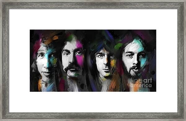 Any Colour You Like Framed Print