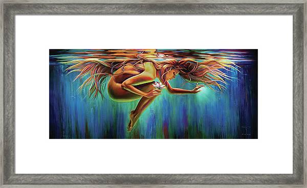 Aquarian Rebirth Framed Print