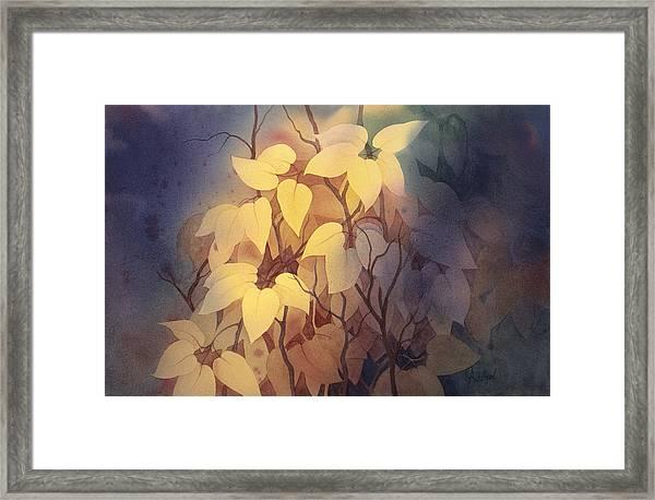 August I Framed Print