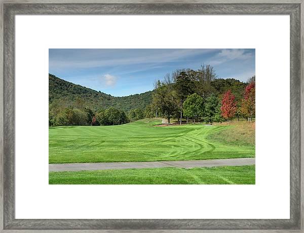 Autumn Fairway Framed Print