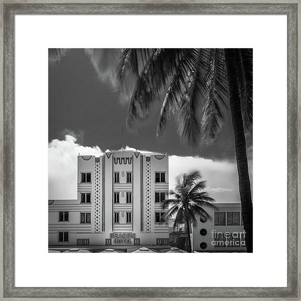 Beacon Hotel Miami Framed Print