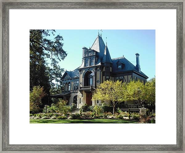 Beringer Brothers Winery Saint Helena Framed Print