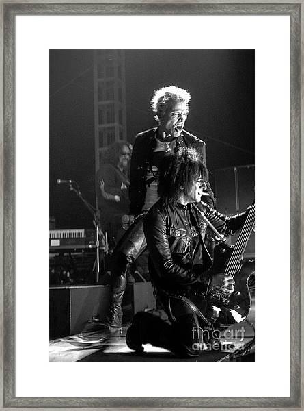 Billy Idol Framed Print