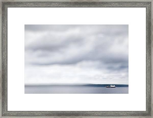 Boat #9224 Framed Print